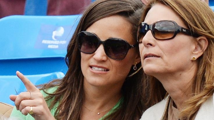 Pippa und Carole Middleton.