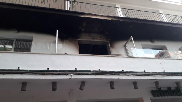 Wegen eines Feuers in einem Hotel mussten 600 Urlauber vorübergehend in Sicherheit gebracht werden.