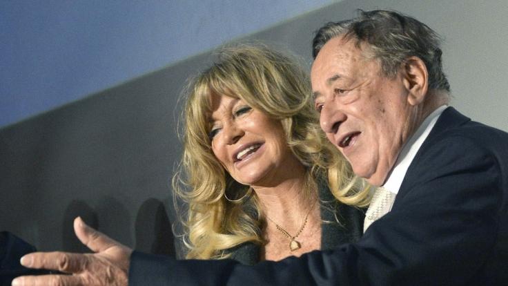 Richard Lugner (84) kann auf einen Tanz mit Goldie Hawn (71) hoffen.
