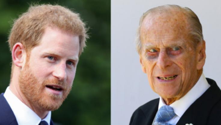 Prinz Harry soll ein ganz besonderes Verhältnis zu seinem Großvater Prinz Philip haben. Dennoch scheint Harry nicht immer auf die Worte seinem Opas hören zu wollen...