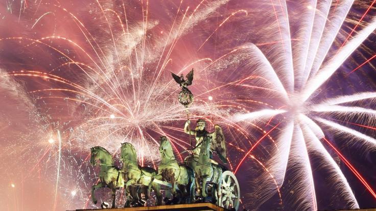 Silvester 2019/2020 wird weltweit mit prächtigen Feuerwerken gefeiert. (Foto)