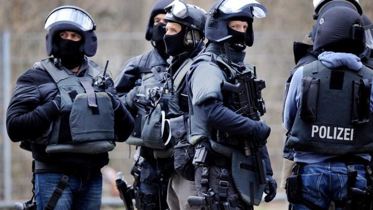 Sondereinsatzkommando (SEK) der Polizei in Nordrhein-Westfalen. (Symbolbild) (Foto)