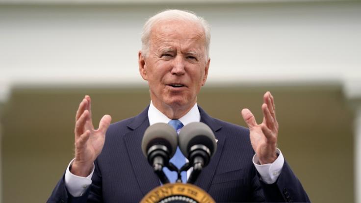 US-Präsident Joe Biden, First Lady Jill Biden und Vizekanzlerin Kamala Harris veröffentlichten ihre Steuererklärungen. (Foto)