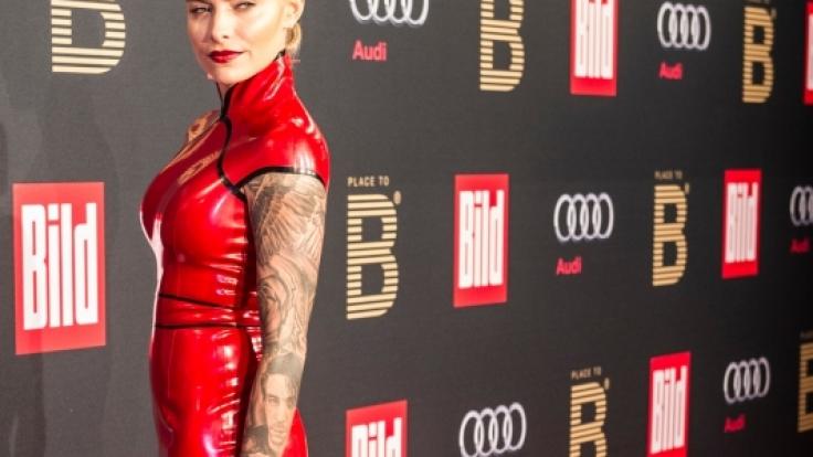 Sexy-Sophia bei der diesjährigen Berlinale-Party der