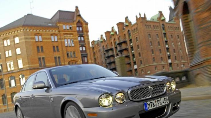Seit Jahrzehnten die typisch britische Oberklasse-Limousine: Der XJ von Jaguar.  (Foto)