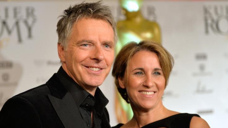 TV-Moderator Jörg Pilawa ist seit 2006 mit Irina Opaschowski verheiratet. (Foto)