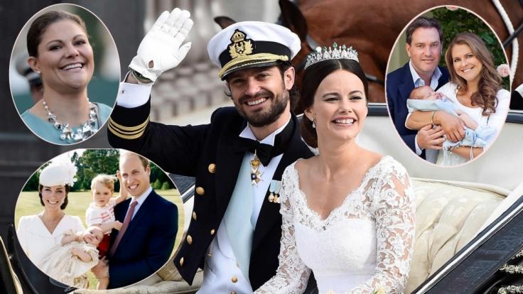 Die Royals Europas sorgten 2015 für manch Schlagzeile.