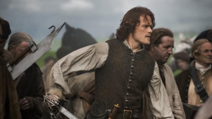 """Sam Heughan spielt die Rolle des Jamie Fraser in der Serie """"Outlander"""". (Foto)"""