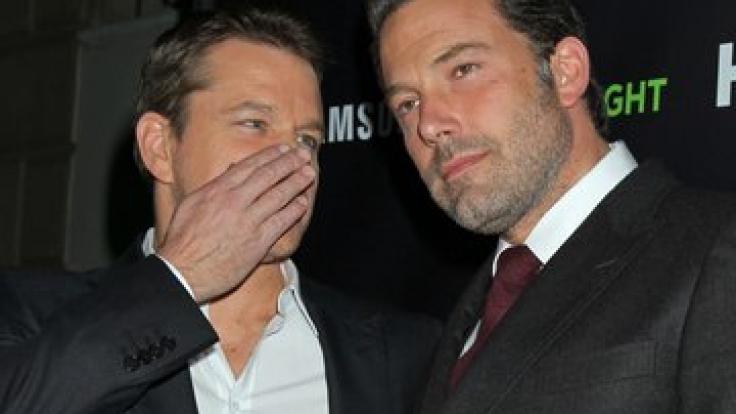 Beste Kumpels: Matt Damon (li.) und Ben Affleck (re.).