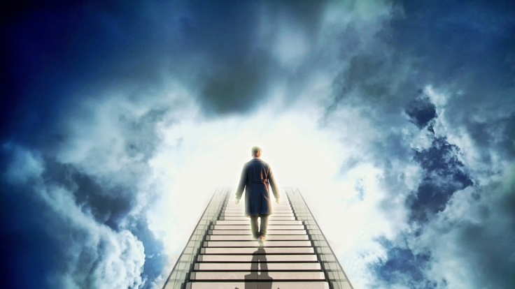 Gibt es ein Leben nach dem Tod? (Foto)