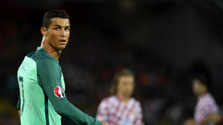 Im ersten EM-Viertelfinale trifft Cristiano Ronaldo mit den Portugiesen auf Polen. (Foto)