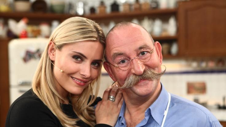 Auch Sophia Thomalla kochte schon mit Horst Lichter. (Foto)