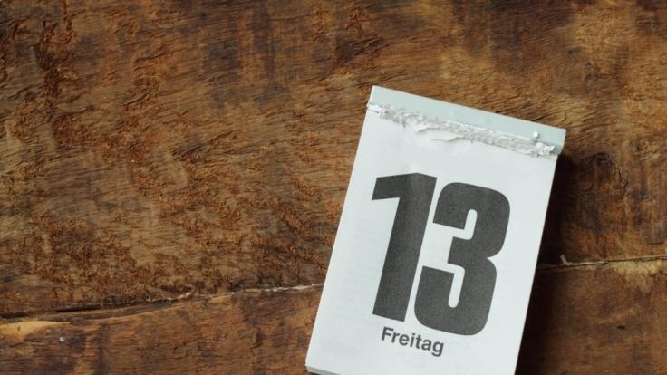 Was ist dran am Unglücksglauben am Freitag, den 13.?