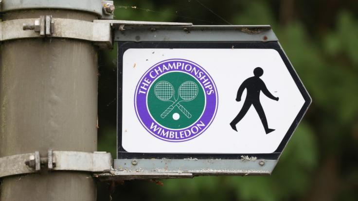 Das Grand-Slam-Turnier von Wimbledon 2021 wird vom 28. Juni bis 11. Juli im Süden von London zelebriert. (Foto)