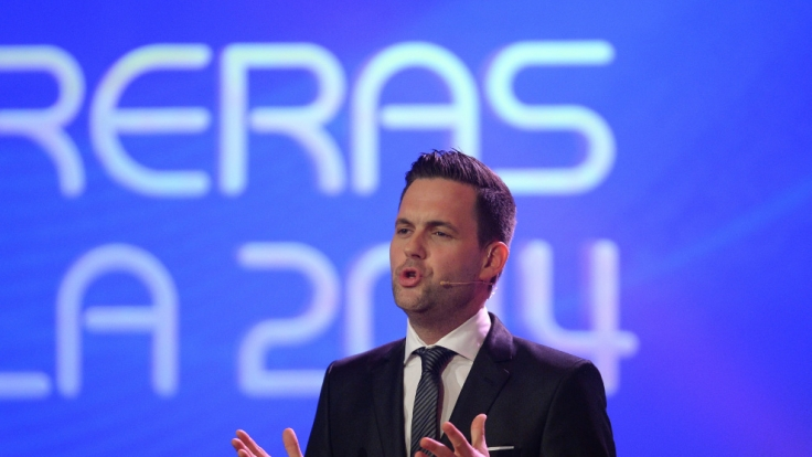 "Matthias Killing moderierte auch die 20. ""Jose Carreras Gala"". (Foto)"