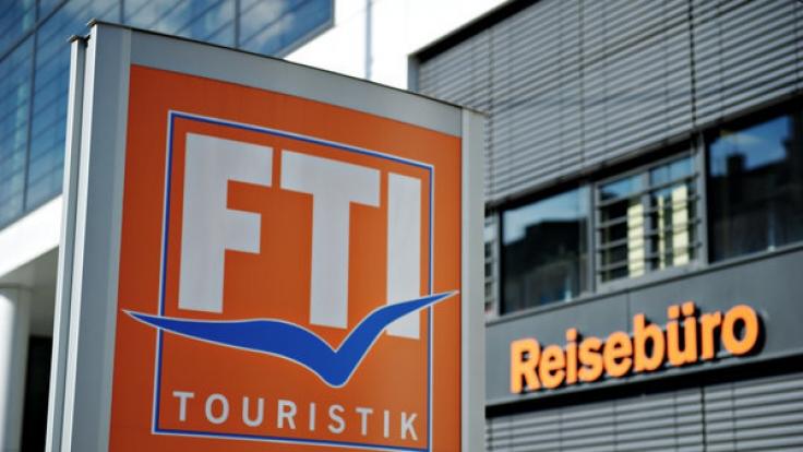 Das Logo des Reiseveranstalters FTI-Touristik.
