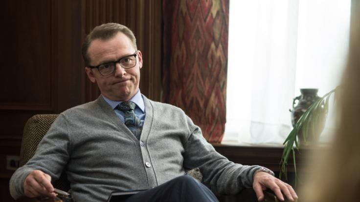 Psychiater Hector (Simon Pegg) ist reif für einen Tapetenwechsel.