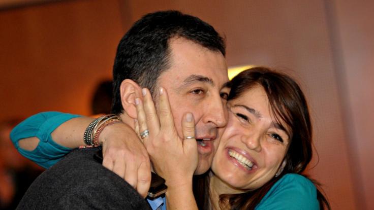 Cem Özdemir ist mit der Journalistin Pia Castro verheiratet. (Foto)