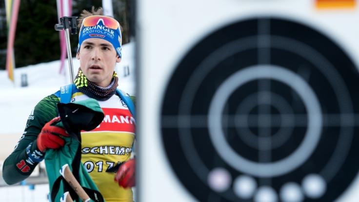 Simon Schempp will endlich wieder bei der Biathlon-Elite mitmischen. (Foto)