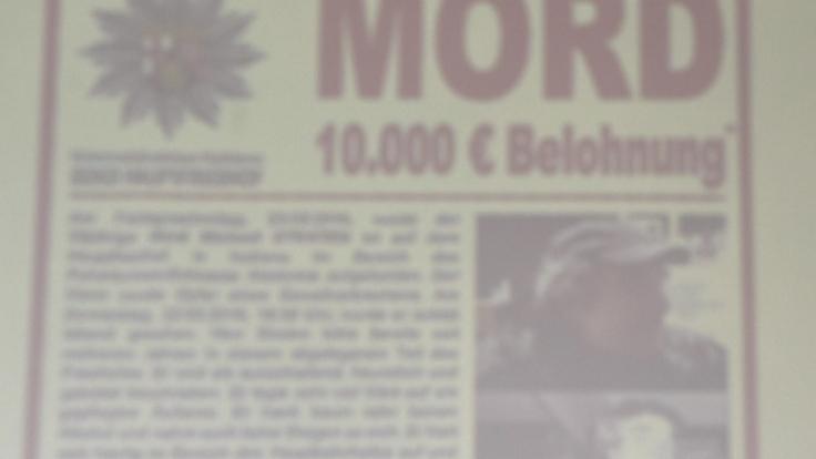 """Nach dem brutalen Mord an dem Obdachlosen Gerd Michael Straten hat die Polizei in Koblenz die """"Soko Hauptfriedhof"""" ins Leben gerufen. (Foto)"""