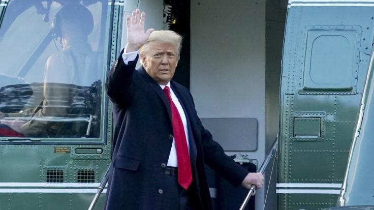 Donald Trump könnte sich ein Präsidentschaftsrennen gegen Meghan Markle vorstellen. (Foto)