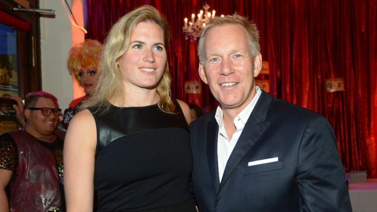 Ehe-Aus nach 20 Jahren: Johannes B. Kerner mit seiner Ehe-Frau Britta Becker. (Foto)