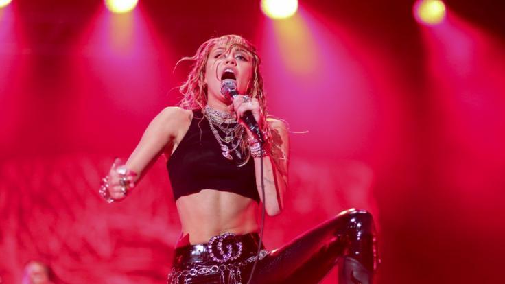 Die News des Tages: Miley Cyrus versext Instagram. (Foto)