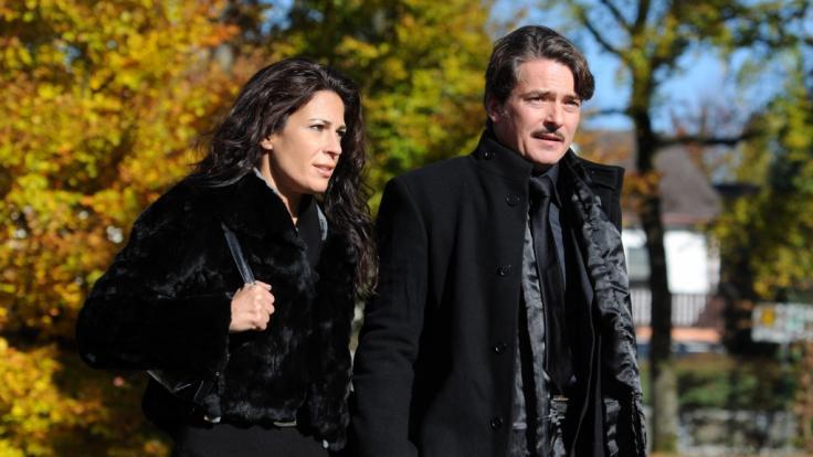 Pascal Breuer und Loredana La Rocca.