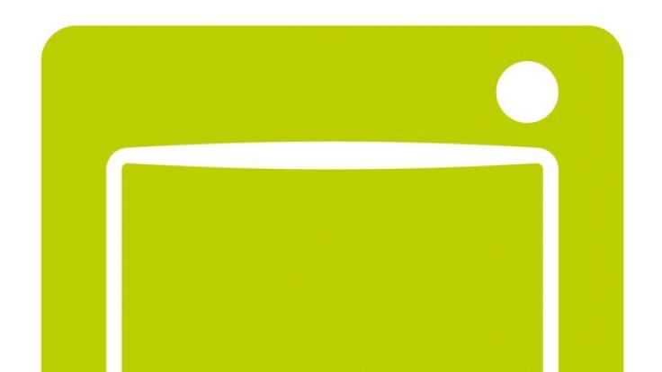 Das grüne DVB-T2-Logo kennzeichnet Geräte, die für den Empfang geeignet sind.