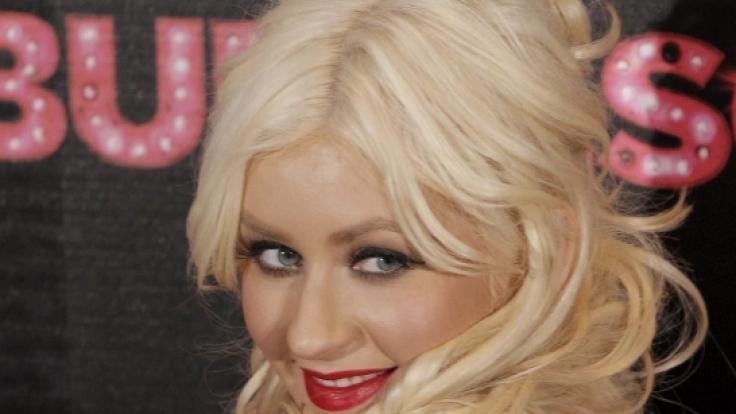 Christina Aguilera zeigt sich nackt im Netz. (Foto)