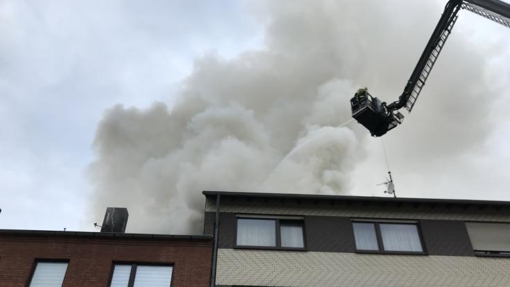 In einem Fachwerkhaus in Göttingen ist ein Feuer ausgebrochen. (Symbolfoto) (Foto)