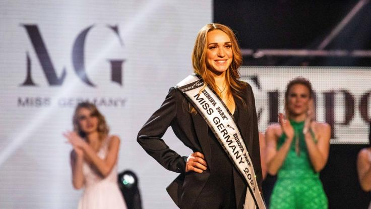 Anja Kallenbach wurde zur Miss Germany 2021 gekürt. (Foto)