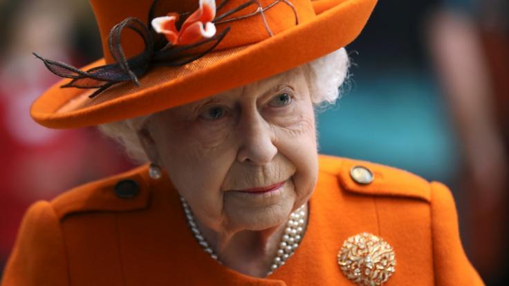 Beim Besuch des Science Museum zeigte sich die Queen in bester Verfassung.