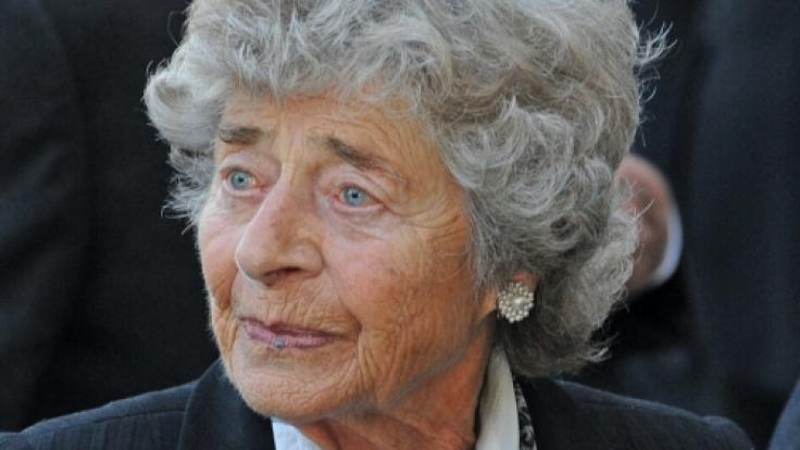 Paula zu Fürstenberg stirbt mit 93 Jahren. (Foto)