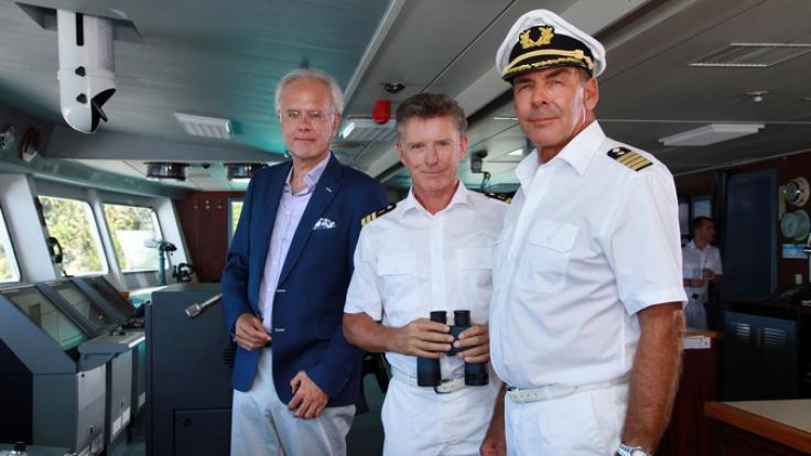 """Auf der """"Traumschiff""""-Reise nach Macau ist auch Oskar Schifferle wieder mit an Bord. (Foto)"""