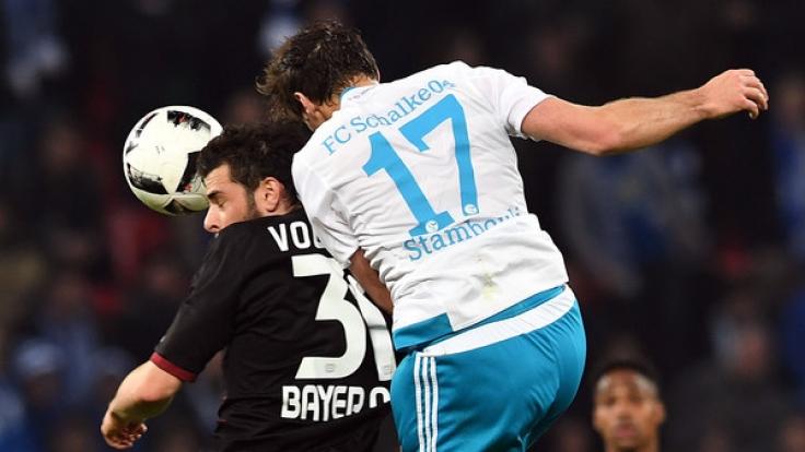 Bayer Leverkusen gegen FC Schalke 04. (Foto)