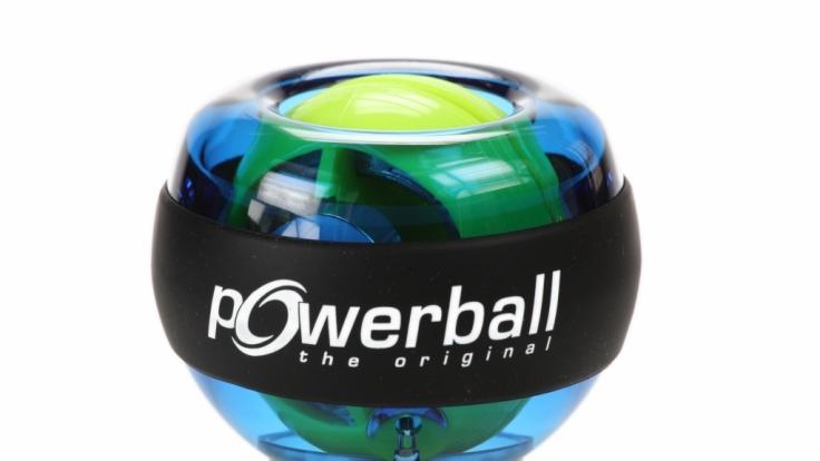 Beim Basic-Modell des Powerballs gibt es noch kein Display für die Geschwindigkeiten. Dem Spaß beim Training tut dies keinen Abbruch.