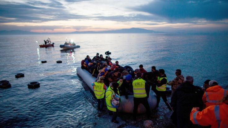 Immer mehr Migranten reisen illegal von der Türkei nach Europa ein.