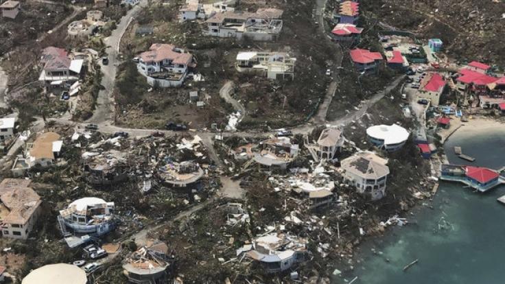 hurican irma trifft florida