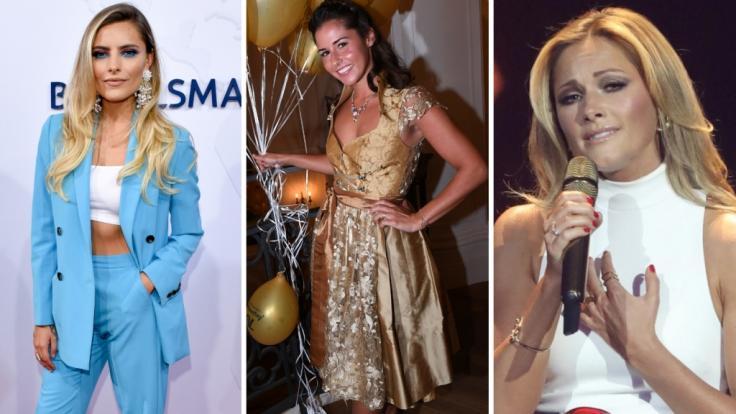 Beim Oktoberfest 2018 sorgten die Promis bereits in der ersten Woche für Schlagzeilen - so auch Sophia Thomalla, Sarah Lombardi und Helene Fischer. (Foto)