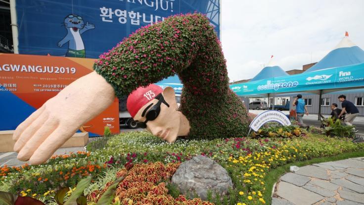 So sehen Sie die Schwimm-WM 2019 in Gwangju/Südkorea im Livestream und TV.
