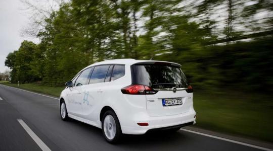Die besten Bilder zu Opel Zafira 1.6 CNG Turbo: Ruhiger Platzhirsch (Foto)