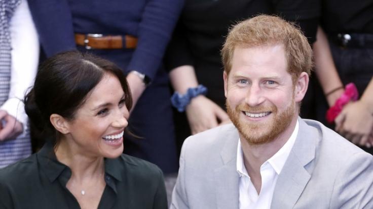 Prinz Harry und Herzogin Meghan verkündeten, dass sie ein Baby erwarten.