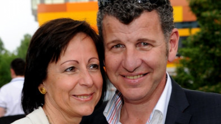 Semino Rossi mit seiner Frau Gabi.