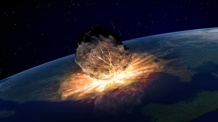 Eines der Untergangs-Szenarien: Apokalypse durch Meteoriten-Einschlag.