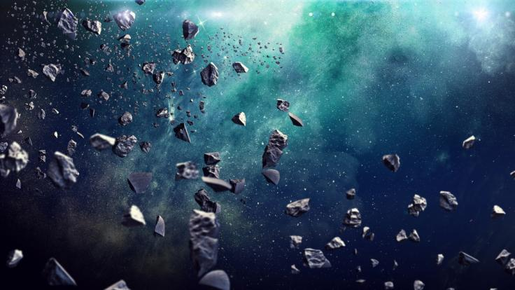 In dieser Woche fliegen sehr viele Asteroiden nah an der Erde vorbei. (Foto)