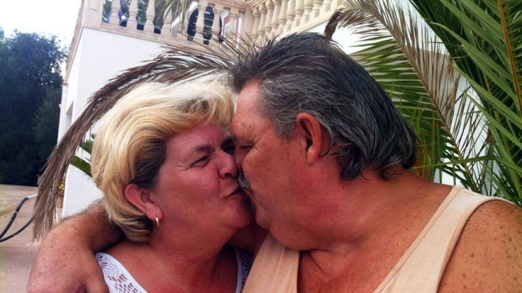 Wollen kämpfen: Mama Andrea und Papa Horst auf Mallorca. (Foto)