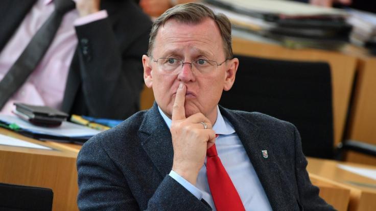 Thüringens Ministerpräsident Bodo Ramelow hat sich für eine neue, gemeinsame Nationalhymne ausgesprochen. (Foto)