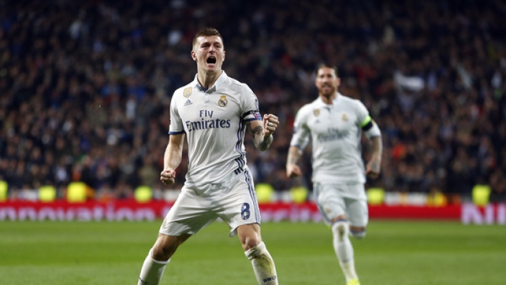 Kroos-Treffer bringt Real gegen Neapel auf Viertelfinal-Kurs