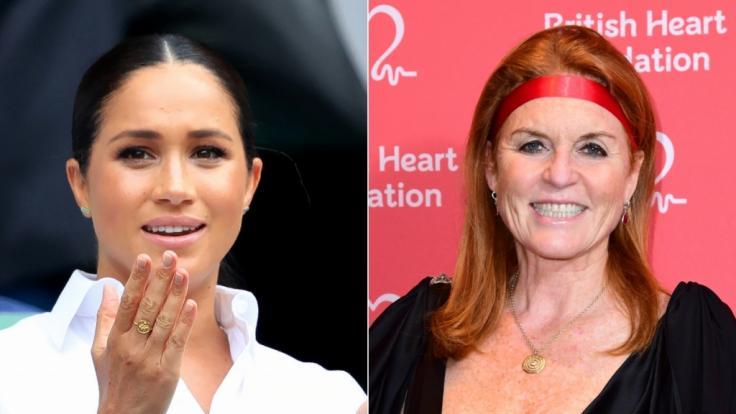 Fergie vergleicht sich mit Herzogin Meghan.